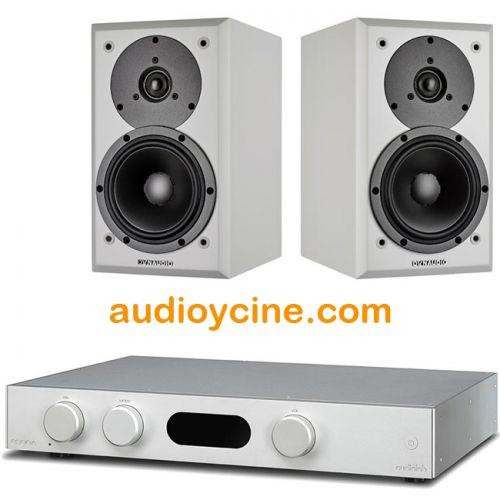 CONJUNTO DE AMPLIFICADOR 8300A DE AUDIOLAB + ALTAVOCES EMIT M10 DE DYNAUDIO. #pack #amplificador #Audiolab #altavoz #Dynaudio #oferta