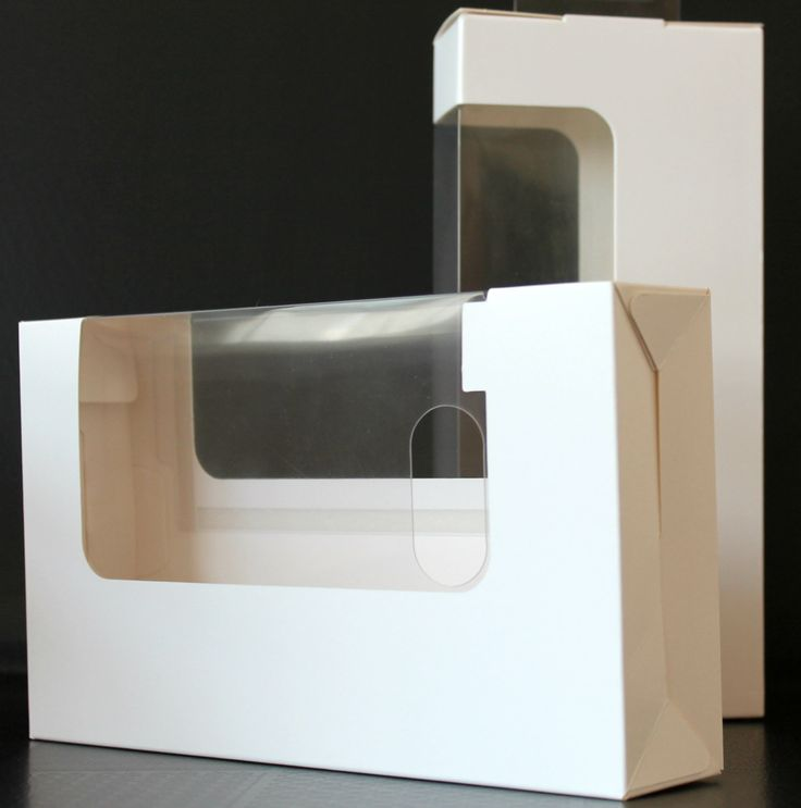 Windows make packaging unique- many window forms in many sizes are available.