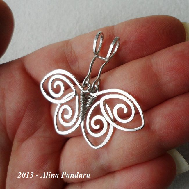Just Another Charming Butterfly Pendant | JewelryLessons.com