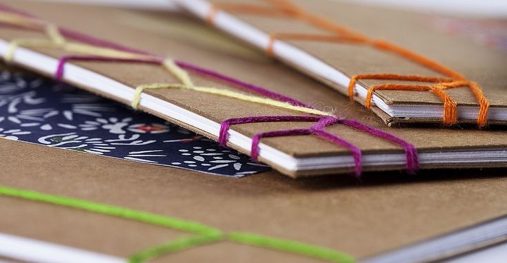 How to make a book - Traditional Japanese stitch. Bookbinding techniques explained by an expert! Join us for this workshop.