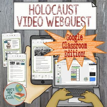 This Holocaust Video Webquest is an interactive Google slides resource to share with your students in Google Classroom, One Drive, or you can print it, if youd like. Students will click directly on film links, type their answers, and submit to you in Google Classroom.