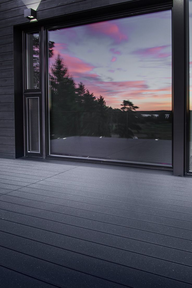 UPM ProFi Deck 150 Night Sky Black in Turku, Finland.