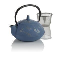 Teavana Blue Butterfly Cast Iron Teapot