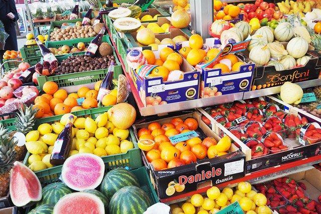 Frisches Obst und Gemüse vom WIener Kutschkermarkt
