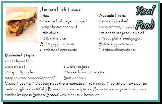Jenna's Fish Tacos