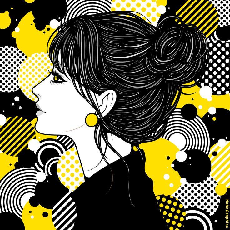 【web】http://naho.tv/ 【twitter】https://twitter.com/NahoGraphics 【Youtube】https://www.youtube.com/channel/UC81jOID4X2mNtjh47jp02oQ 【instragram】https://www.instagram.com/naho_note/  #illustration#drawing#art#design#fashion#hair#hairstyle#face#design#イラスト#イラストレーション#アート#女性イラスト#ドローイング#ipad#applepencil#procreate #手書き #絵 #make #メイク #女の子 #girl #woman #女性 #ファッション #アップ #お団子ヘア #ボブ #部屋