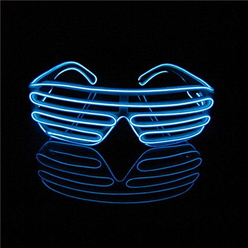 These would be awesome on #newyearseve Aquat Light up Electroluminescent EL Wire LED Glasses Shu... https://www.amazon.com/dp/B013IHNU2G/ref=cm_sw_r_pi_dp_x_Rtexyb0HNEEWW