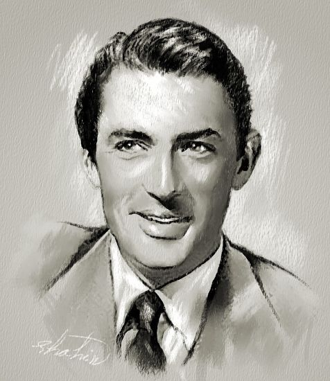 Gregory Peck by shahin
