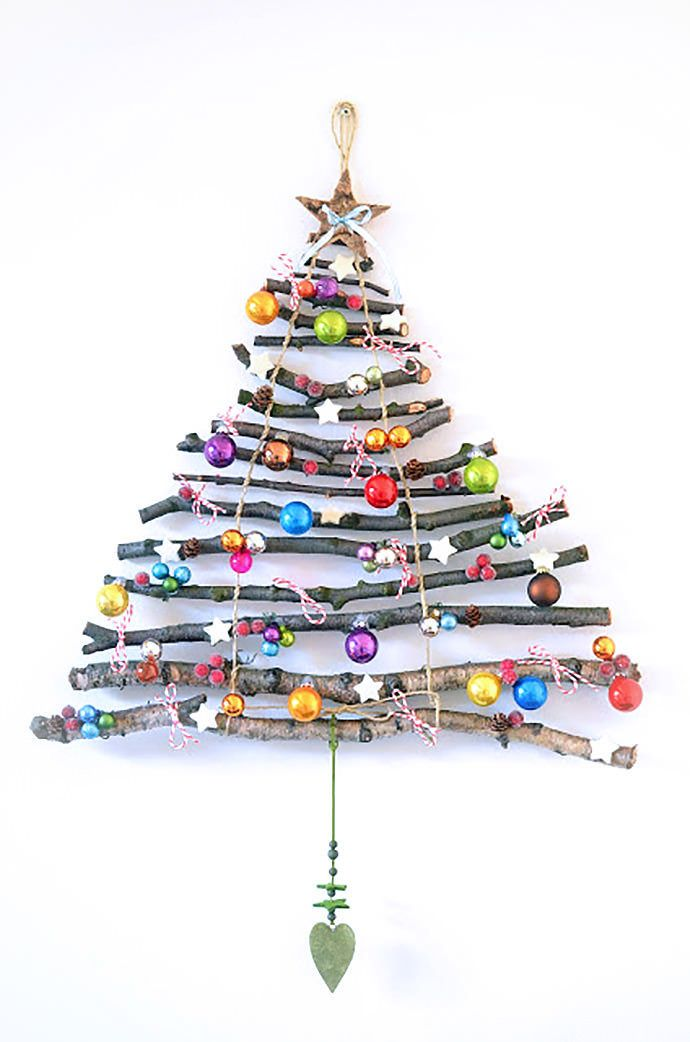 Here's a fun collection of alternatives to the traditional Christmas tree.