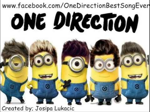 One Direction - Best Song Ever in the minions voice!!!!<<<@Dextry ☁