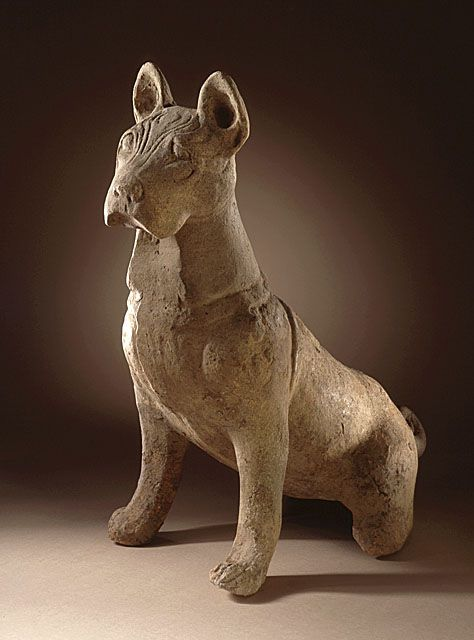 Funerary Sculpture of a Dog  China (Sichuan), 25-220 AD  The Los Angeles County Museum of Art