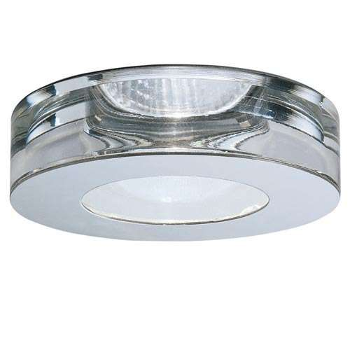 Lei Steel and Crystal - Line Voltage Recessed Lighting Kit