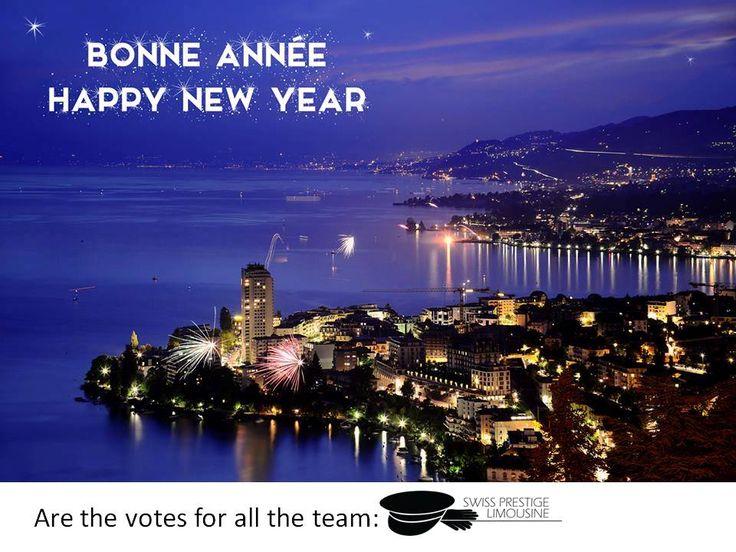 Bonne année ! HAPPY NEW YEAR ! By #SwissPrestigeLimousine