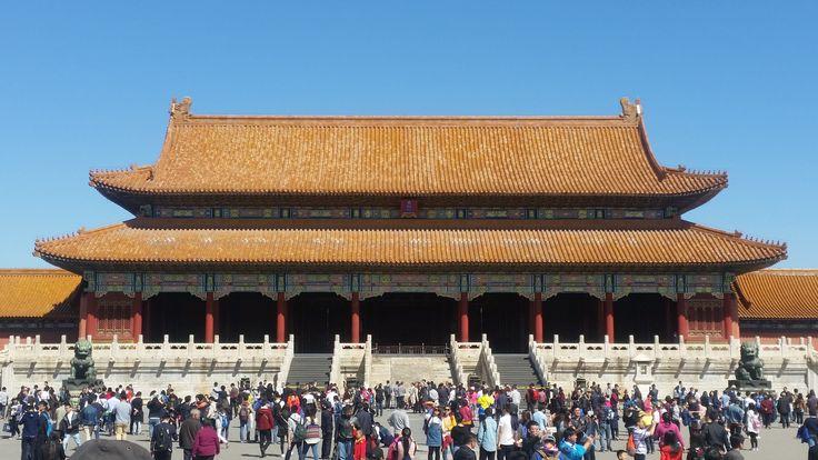 Een bezoek aan de Verboden Stad. Een enorm paleis met veel bezienswaardigheden. #ForbiddenCity #VerbodenStad #Beijing