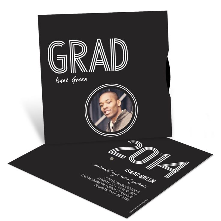 Graduation Announcements Wheel of Photos
