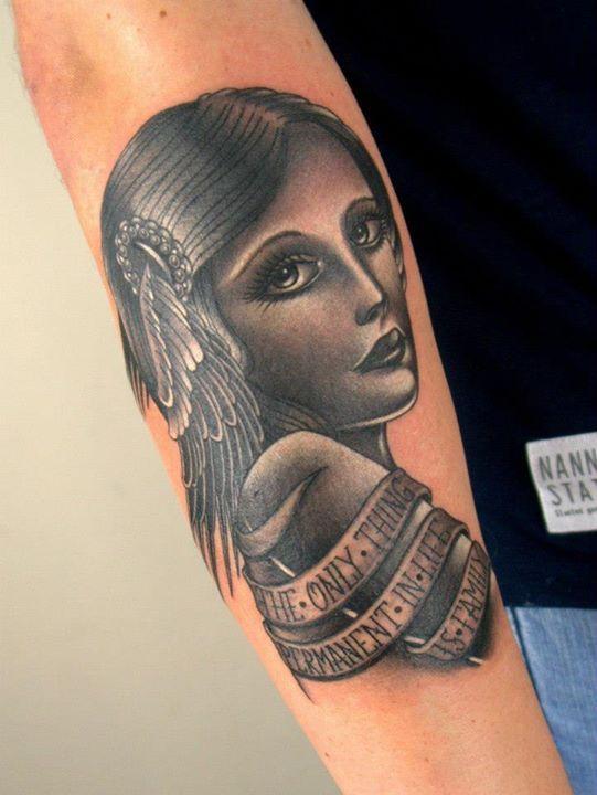 #themagicrosa #tattoo   German tattoo, Tattoo artists ...  German Tattoos For Girls