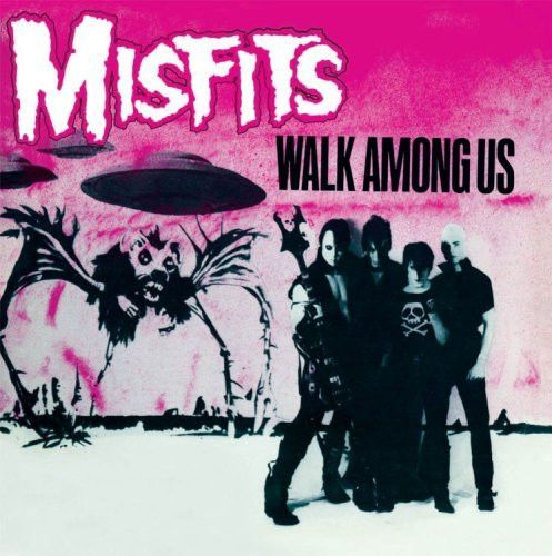 """Misfits Walk Among Us on Vinyl LP Walk Among Us is the Glen Danzig led Misfits' ferocious and critically acclaimed 1982 debut album. From the manic opening of """"20 Eyes"""" to the monster chorus of """"Brain"""