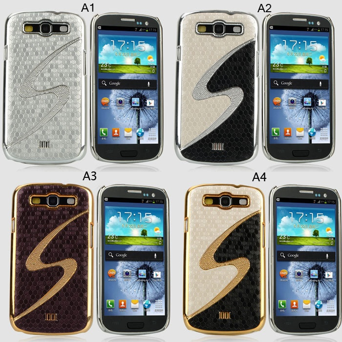 1PCS  Plating Metal Panel Case Cover For Samsung Galaxy SIII S3 i9300 CM116 on AliExpress.com. $3.68
