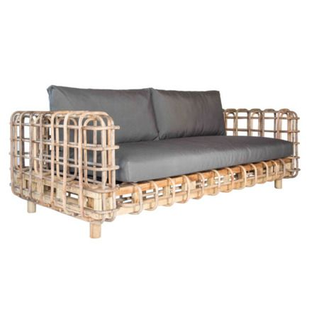 Discover a wide range of Kenya indoor or outdoor sofa. Shop for Kenya 2.5 Seater Sofa Indoor / Outdoor and enjoy a comfortable time indoor or outdoor. Dimensions: D=97, W=210, H=65cm