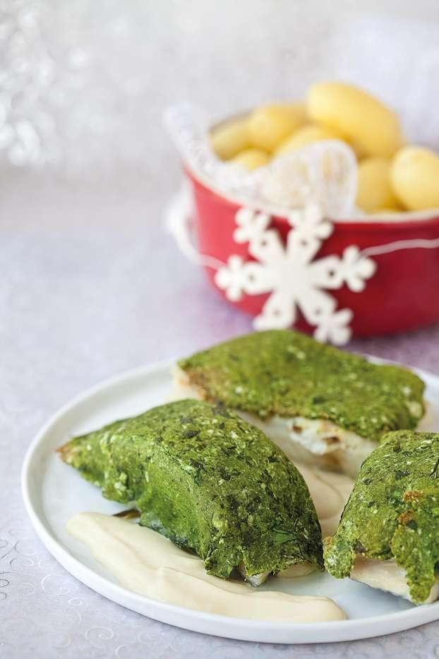 La ricetta del #baccala gratinato al pane di prezzemolo: questo il secondo di pesce che Cristina Lunardini propone come ricetta di #Natale per un menu di mare.