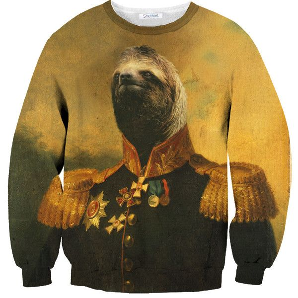 Chris $59 Commander Sloth Sweater.....a BIG Seriously!