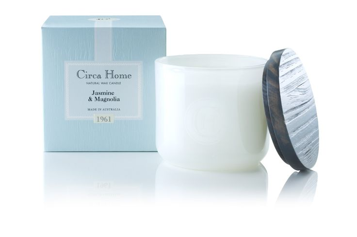Circa Home soy candle- Jasmine & Magnolia (for winter)