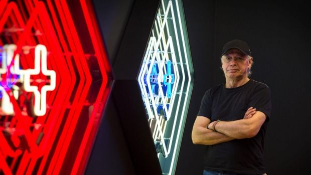 A new exhibition from Bob Jahnke lights up Te Manawa.