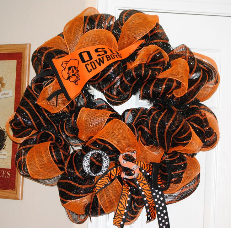 Oklahoma State Wreath