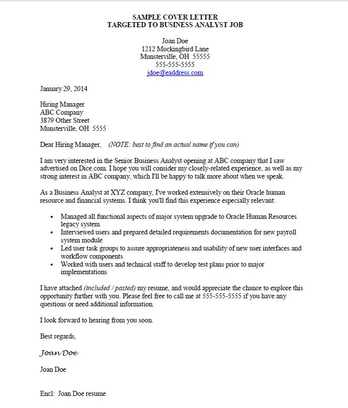 25+ beste ideeën over Cover letter for job op Pinterest - business analyst cover letter