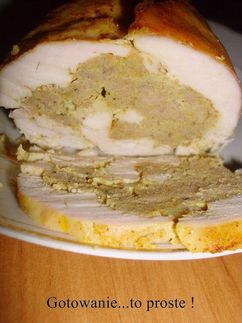 Gotowanie...to proste!: Rolada z piersi kurczaka do chleba