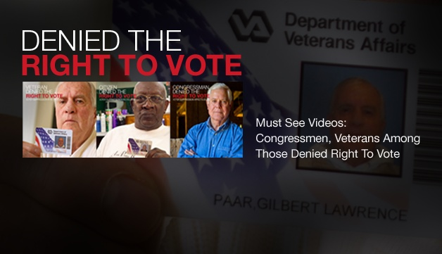 In 2012, in the United States of America, citizens are being denied the right to vote.  Please watch, like, share, and sign up to help us fight voter suppression!     http://www.usw.org/action_center/voter_hq/info_center?type=news=0135