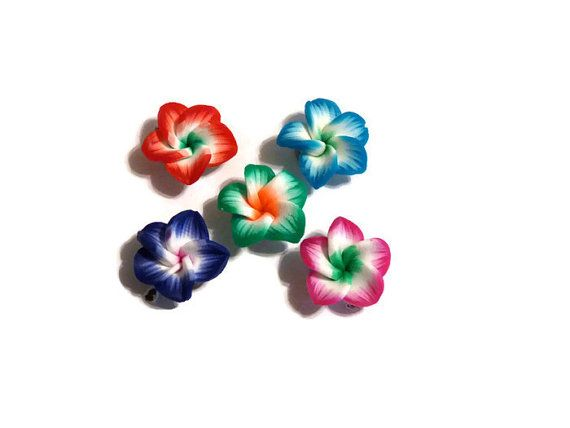 Decorative Push Pins Flower Thumb Tacks Office by DianesDiversions