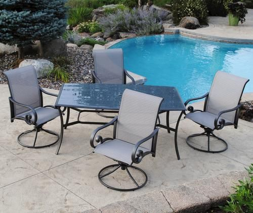 Backyard Creations 5-Piece Saratoga Dining Collection