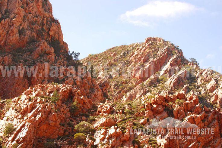 Rugged country along Section 3, Larapinta Trail. © Explorers Australia Pty Ltd 2013