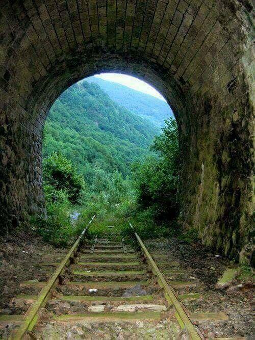 Abandoned Railroad Tunnel