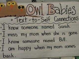 First Grade Fever!: owls