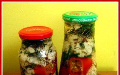 Retete Culinare - Conopida cu ardei capia