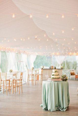 Вдохновение: оформление свадебного шатра - The-wedding.ru