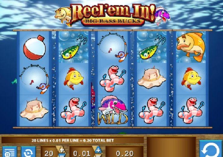 Reel 'Em In slot er underholdende såvel som at være meget indbringende, fordi det indeholder en progressiv jackpot. #ReelEmIn #game #maskine #progressivjackpot