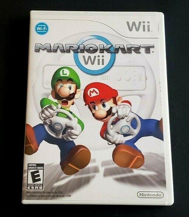 Nintendo Wii Game Complete Mario Kart Mariokart Best Family Fun Ever Ebay In 2020 Nintendo Mario Kart Mario Kart Wii