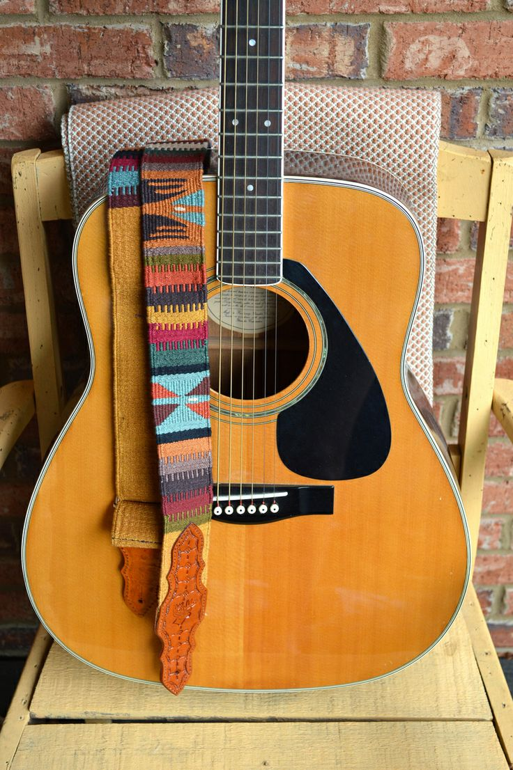 Handmade Guitar Straps from Guatemala (Style #1) - Straps