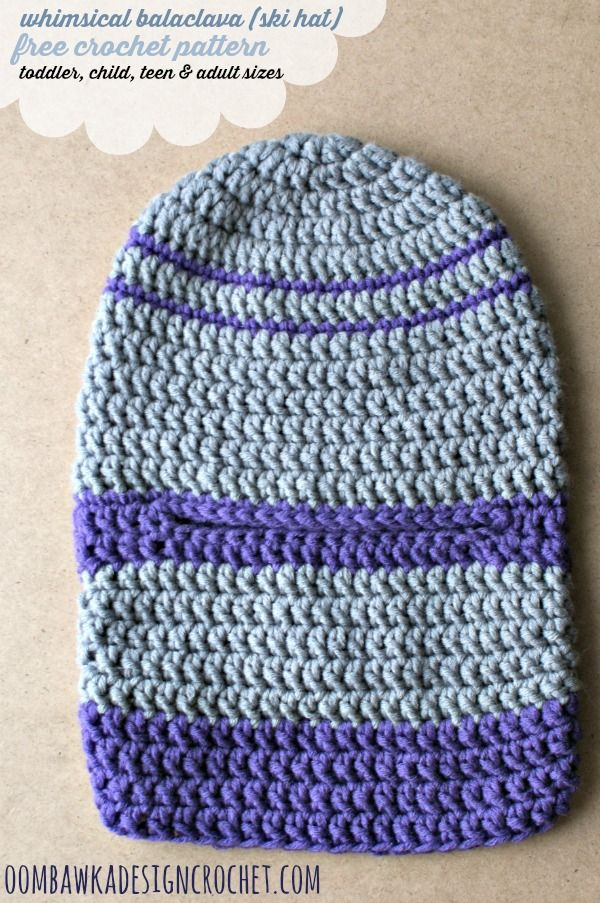 Face Ski Mask Crochet Pattern Creativehobbyore