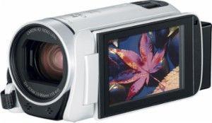 Canon - VIXIA HF R800 HD Flash Memory Camcorder - White - AlternateView12 Zoom