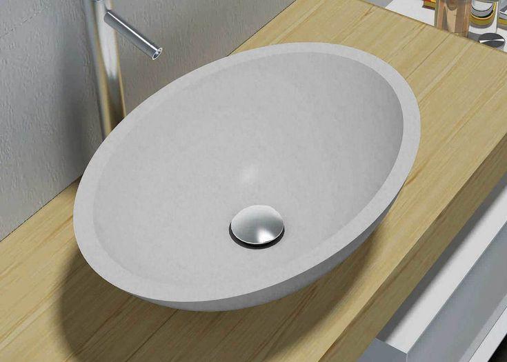 Pearl Stone Above Counter Basin - ABL Tile & Bathroom Centre