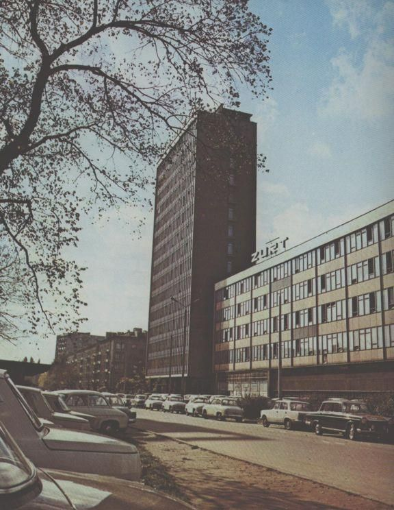 Biprostal Building, Kraków, 1971