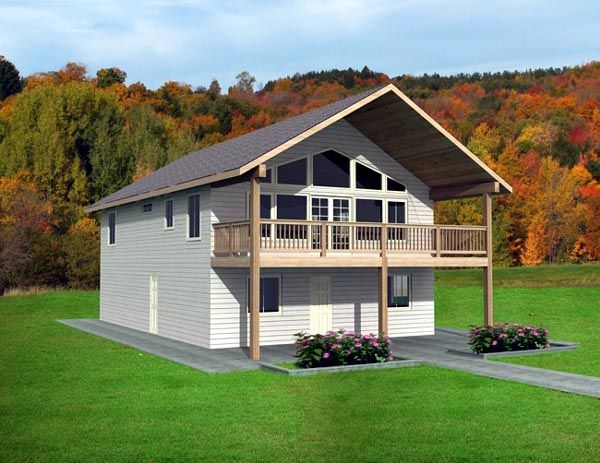 17 best images about cabin floor plans on pinterest for House plans with apartment over garage
