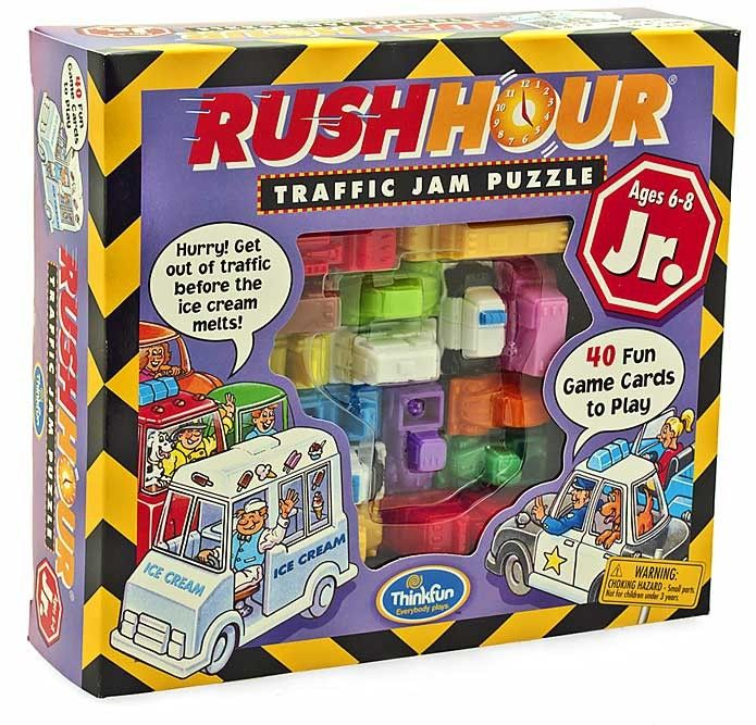 Thinkfun Game Rush Hour Junior Love a game to get the kiddies thinking, perfect to keep them busy on the summer holidays!  #EntropyWishList  #PinToWin