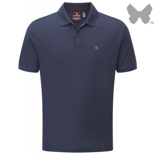 Victorinox Men's VX Polo Shirt – Signature Blue - Men's Polo Shirts / T-Shirts - Men's Designer Shirts / Tops - MEN | Country Attire