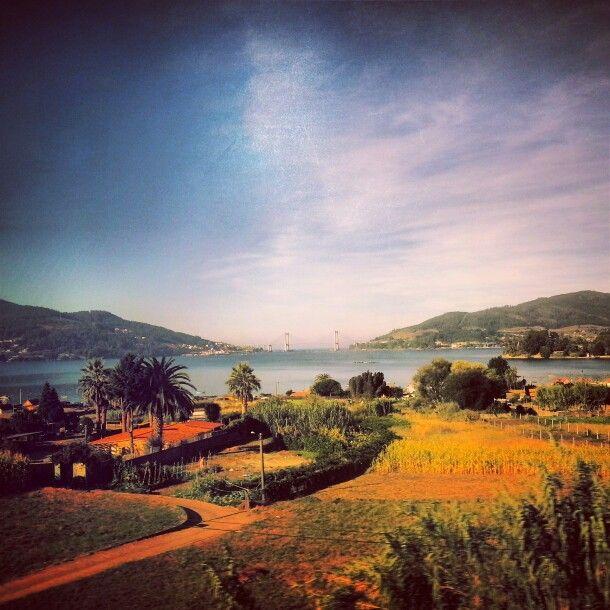View of the #Ria de #Vigo