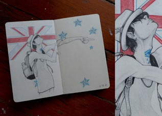 Sketch from my friend Mathieu